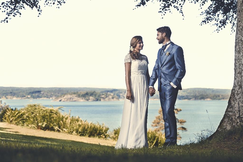 Kavaj Hampton, ljusblå bröllopskavaj CAVALIERE